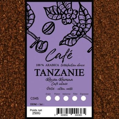 Café Tanzanie moulu