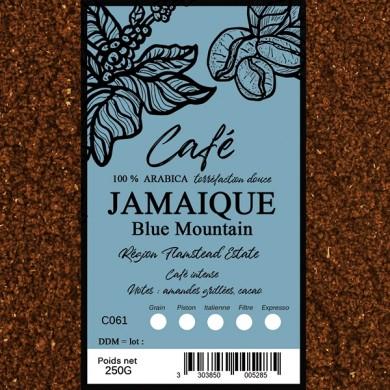 Café Blue Mountain, moulu