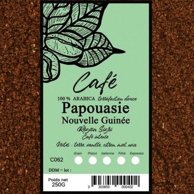 Café Papouasie nouvelle Guinée moulu