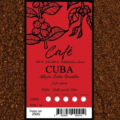 Café Caraibes  moulu