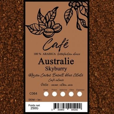 Café Australie Skybury moulu
