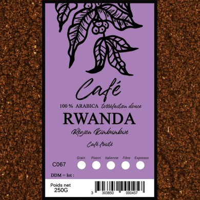 Café rwanda moulu