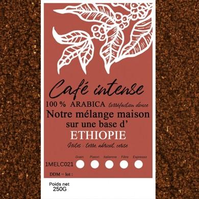 blend café fin, sidamo + café fin