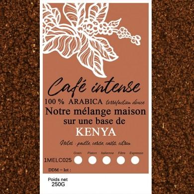 blend café fin, kenya+ café fin