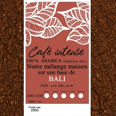 mélange café intense café bali moulu
