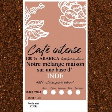 blend café fin, indes malabar + café fin