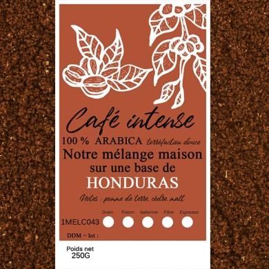 mélange café intense honduras moulu