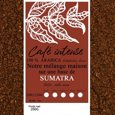 blend café fin, sumatra + café fin