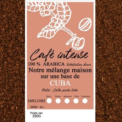 mélange café intense cuba