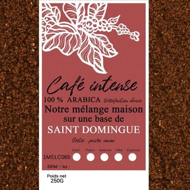 mélange café intense st domingue moulu