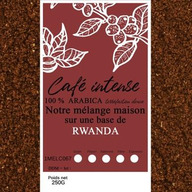 mélange café rwanda