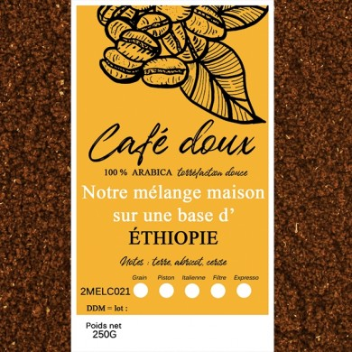 mélange café délicat moka sidamo
