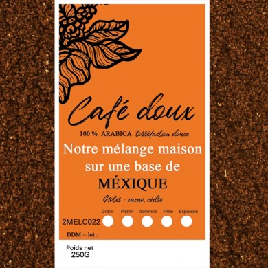 mélange café délicat mexique