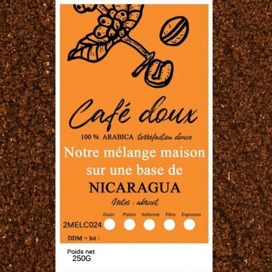 mélange café délicat nicaragua