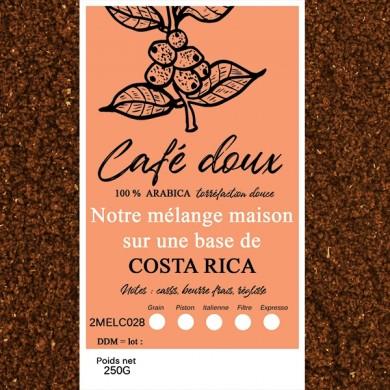 mélange café délicat costa rica