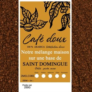 mélange café délicat  saint domingue