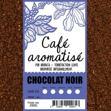 Café chocolat moulu