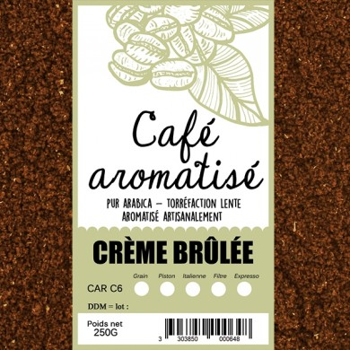Café Crème brûlée moulu