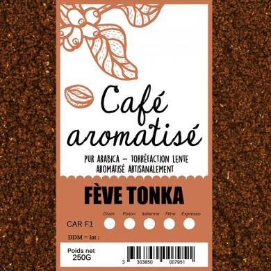 Café feve tonka moulu