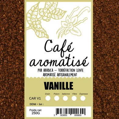 Café Vanille moulu