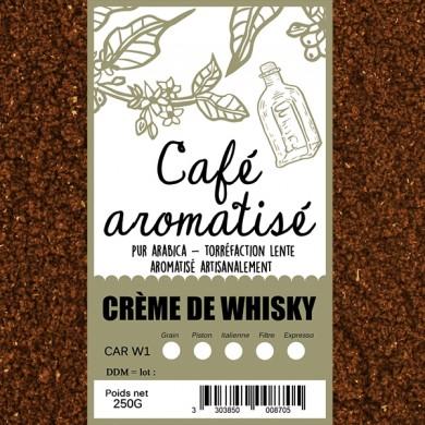 Café crème de whisky moulu