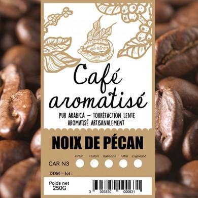 Café noix de pécan grain