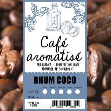 Café rhum coco