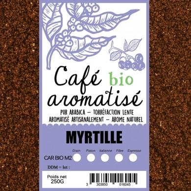café bio myrtille