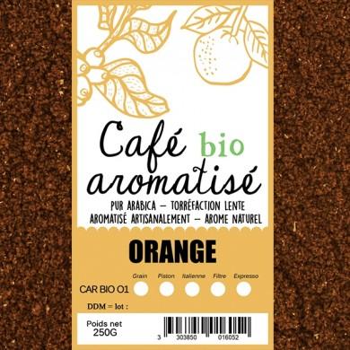 café bio orange
