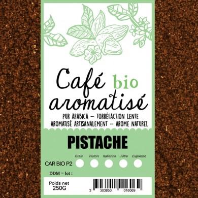 café bio pistache