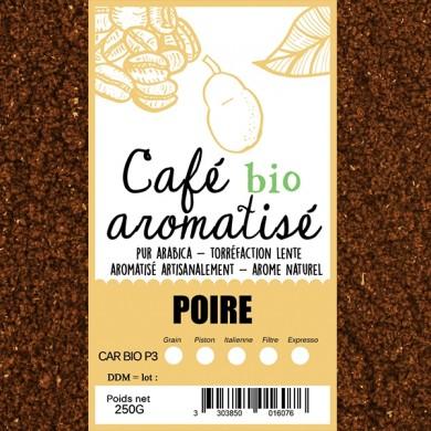 café bio poire