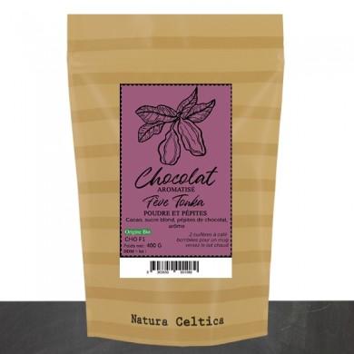 Chocolate nut-flavored coconut powder