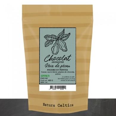 chocolat en poudre aromatisé noix de pecan