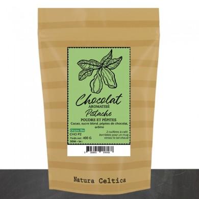 chocolat en poudre pistache