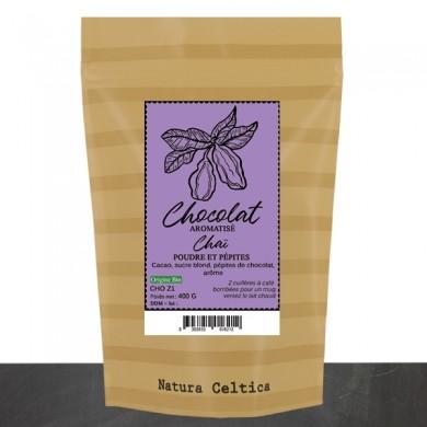 chocolat en poudre bio aromatisé chaï