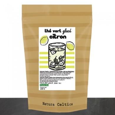 thé vert glacé citron BIO