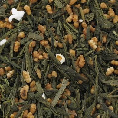 thé vert du japon genmaicha