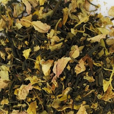 thé vert de chine citron sureau rose... BIO