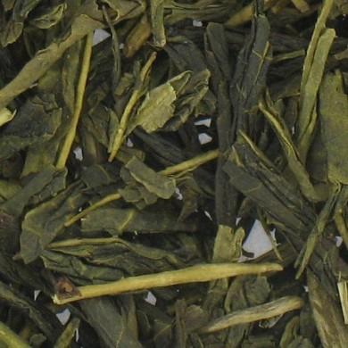 thé vert bio de chine gingembre citron