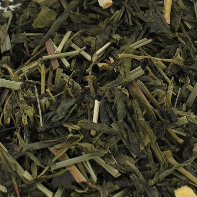 chinese green tea jasmine flowers