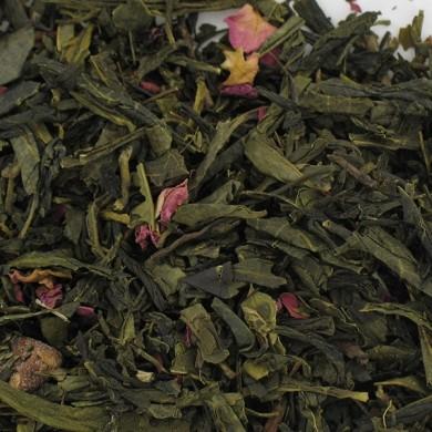 thé vert de chine poire