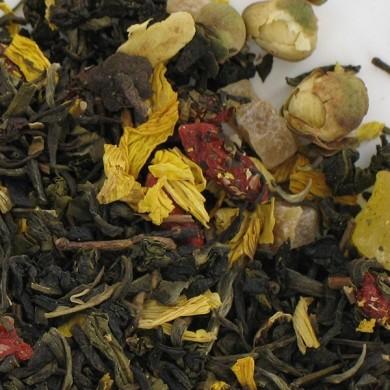 thé vert de chine melon goyave