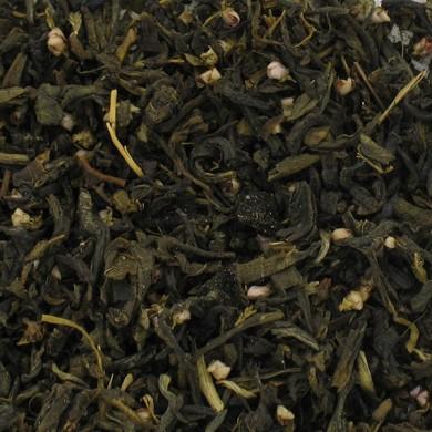 Spirulina green tea, papaya, aloe vera, bilberry
