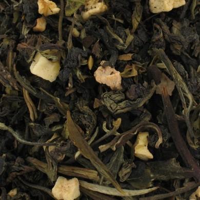 Thé vert et blanc de chine pomme cannelle