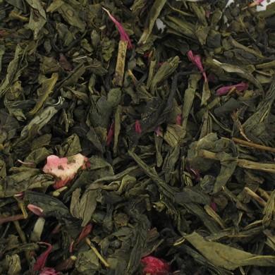 Thé vert groseilles fraise airelles