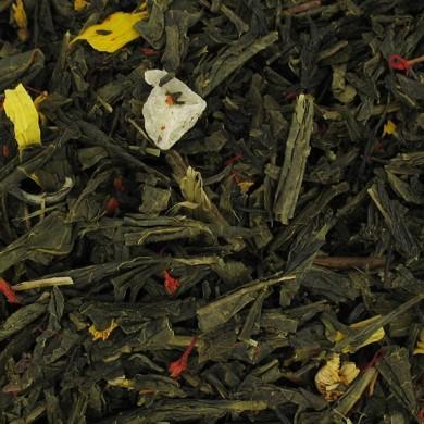 thé vert ananas mangue tournesol