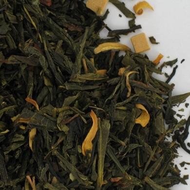 thé vert caramel cola oranger