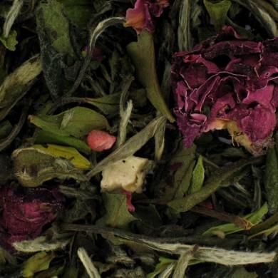 Thé blanc Rose Framboise