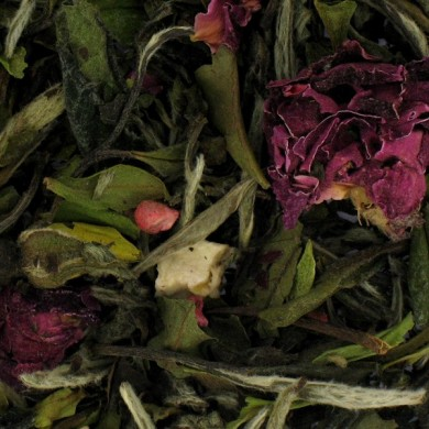 Thé blanc Rose/Framboise