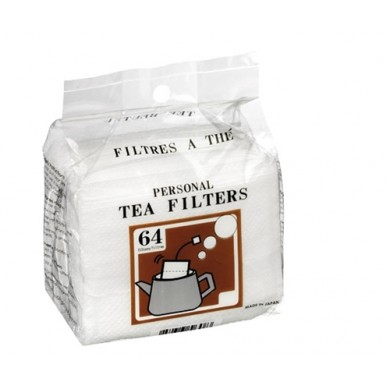 64 filtres à thé